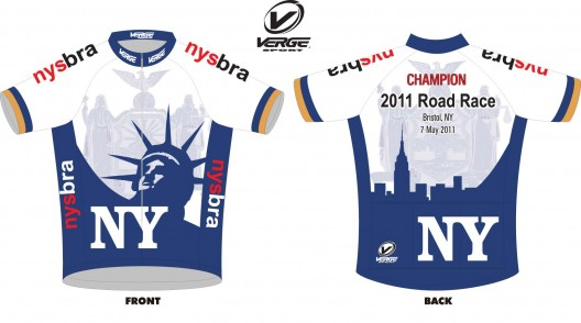 2011 New York State Champion Jersey